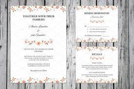 Wedding Invitations Template Design Sample Invitation Cards