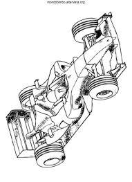 Disegni Macchine Da Corsa Da Colorare Mondo Bimbo