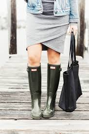 Hunter Shoe Size Chart A Guide To Buying Hunter Boots Red White Denim