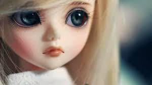 Cute Black Eyes Barbie Doll HD Barbie ...