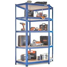 wonderful edsal 5 tier steel shelving unit