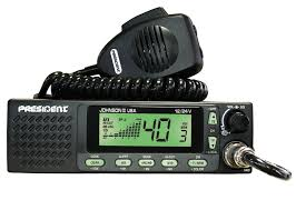 johnson ii cb radio johnson ii usa 12 24v orange