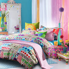 colorful comforter sets  beds decoration
