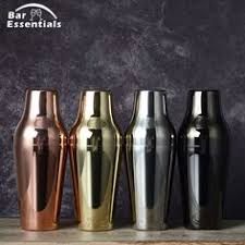 Calabrese Bar Cocktail Shaker <b>Stainless Steel</b> 500ml Bottle Cocktail ...