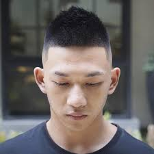 Chinese Man Hard Part With Front Of Mohawk Chinese Mens