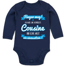 Ich Habe Eine Verrückte Cousine Blau Shirts Mehr Shirtracer