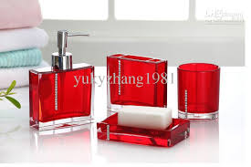 Best Fashion Bathroom Accessories Sets Wedding Business Gift In Colorful Bathroom Sets