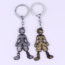 detail feedback questions about mqchun new arrival anime cartoon kingdom hearts sora dolls figure metal keychain pendant key chain chaveiro key ring 50 on