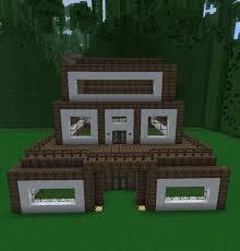 Modern Wood House Minecraft Wooden Housecfabbcf Modern Wooden House Minecraft Modern