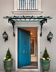 front door awningsAdd Decors to your Exterior with 20 Awning Ideas  Home Design Lover