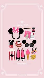 disney minnie pink wallpaper