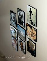 Diy Canvas Make Photo Gallery With Canvas Diy Project Idea Photo Canvas By