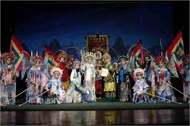 Китайская опера Легендарный Китай Существуют также и другие жанры китайской Китайская опера фото