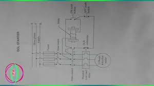 dol starter circuit diagram books direct starter you 3 phase motor starter diagram direct starter wiring diagram single phase