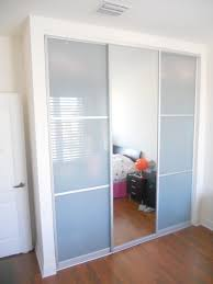 sliding door panels elegant nice acrylic bypass closet doors with regarding 16