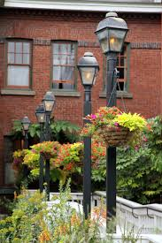 Lamp Posts With Hanging Baskets Oh Yes Home And Yard Ideas In