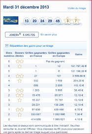Resultados de euromillones de hoy 1 de junio de 2021, números: Resultat Euromillions Tirage Mardi 31 Decembre Numero Gagnant Rapport Gagner Au Loto Et A Euro Millions