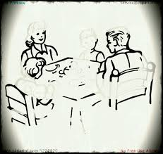 family room clipart. dining room clipart black and white dinner table clip art library family
