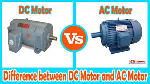 ac motor dc motor learning engineering