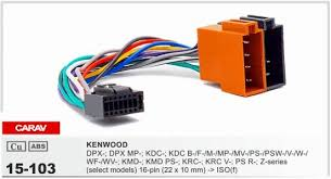 carav 15 103 top quality car iso harness for kenwood stereo radio carav 15 103 top quality car iso harness for kenwood stereo radio wire adapter plug wiring connector cable double din dash kit wire harness radio radio