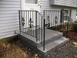metal handrails for deck stairs. model outdoor metal stair railing systems handrails for deck stairs