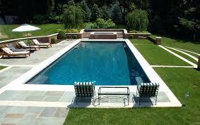 rectangle inground pools. Wonderful Pools Rectangle Pool Small Rectangular Inground Fiberglass  Pools Cost  And