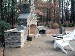 how to build an outdoor brick fireplace backyard fireplace plans astonishing