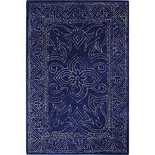9 x 12 x large navy blue rug venezia