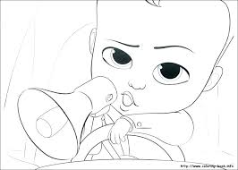 Newborn Baby Coloring Pages Free Boss Baby Coloring Pages Boss Baby