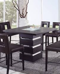 modern counter height table. Wenge Counter Height Bar Table Modern