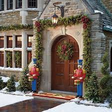 Classic Outdoor Greenery Collection - Christmas begins at the Front Door~ # Frontgate #HolidayDecor