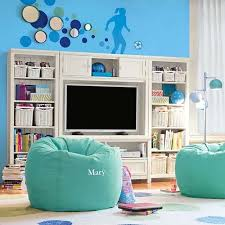 bedroom ideas for teenage girls with medium sized rooms. Unique Ideas Bean Bag Seats And Entertainment Center With Bedroom Ideas For Teenage Girls Medium Sized Rooms