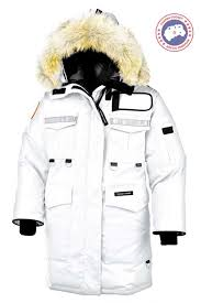 Canada Goose Resolute Parka White Women s On Sale Offer
