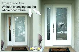 front door replacement glass inserts storm replace insert with blinds glass door inserts catalog entry installation