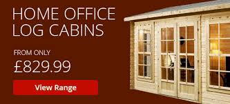 home office cabins. Home Office Log Cabins