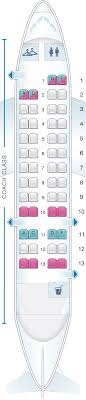 Seat Map Us Airways Bombardier De Havilland Dash 8 300