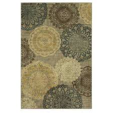 hamilton grey 8 ft x 10 ft indoor outdoor area rug