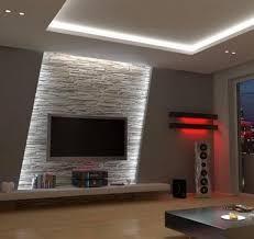 indirect lighting ideas tv wall. salon w odcieniach beu zdjcie od linda aljoboury indirect lighting ideas tv wall d