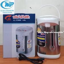 Bình thủy điện bình nước nóng Thái Lan Jiplai 4 lít Bảo Hành 12Tháng