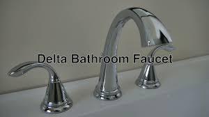 Delta Kitchen Faucets Warranty Delta Bathroom Faucets 3 Hole Widespread No Leaky Water Warranty