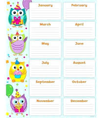 Birthday Reminder Chart Birthday Board To Show Off All Your Team Members 0027