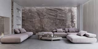 striking rockface feature walls