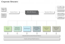 Organizational Chart Delectable BC Centre For Excellence In HIVAIDS