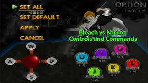 Bleach vs Naruto Tips — Bleach vs Naruto - Controls & Commands