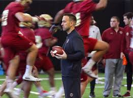 The college football playoff schedule for the 2021 season kicks off with the two semifinal games, the goodyear cotton bowl and the capital one orange bowl, on new year's eve (friday, december 31. Amid A National Spike In Covid 19 Cases Bc Football To Start Workouts The Boston Globe