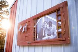 recycling old wooden door upcycled photo frame outdoor wall hanging crafts