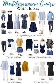 7 Day Cruise Packing List What To Pack For A Mediterranean Cruise Packing List