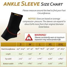Donjoy Ankle Brace Size Chart Top 10 Best Basketball Ankle Braces In 2019 Buyers Guide