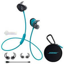 bose earphones blue. bose soundsport wireless neckband headphones - aqua earphones blue