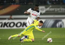 Danijel Milicevic AA Gent fouled by Moussa Editorial Stock Photo - Stock  Image